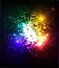 lights musical background