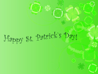 Abstract background to st. patrick`s day