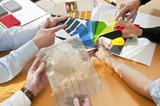 Beratungssituation Material & Farbe