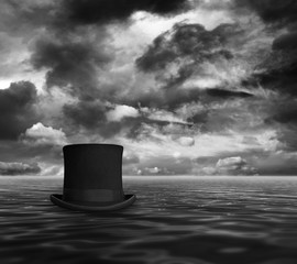 Top hat at sea