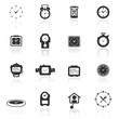 Icon set  clocks