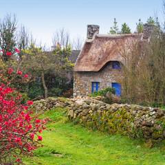 Maison bretonne carré