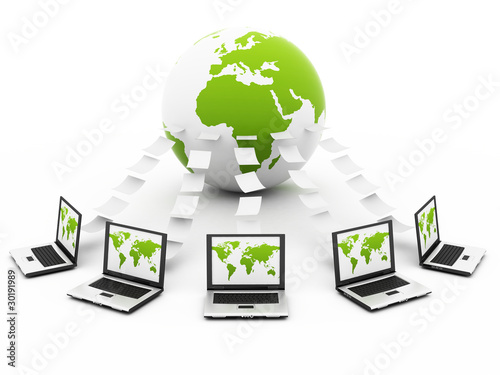 Global green Computer Network