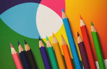 Colorful pencils 3