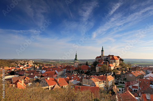 Nice historical castle in the czech republic - Mikulov