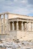 The Porch of the Caryatids of The Erechtheum temple poster