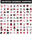 100 office, business