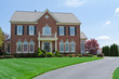 Brick Faced Single Family House Home MD USA