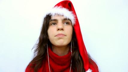 Funny Santa w Headphones
