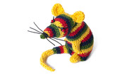 handmade toy Rasta mouse