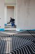 Fußbodenheizung verlegen