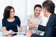 Leinwanddruck Bild - Successful financial plans