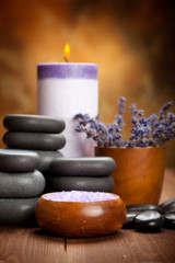 Spa treatment - lavender spa and aromatherapy