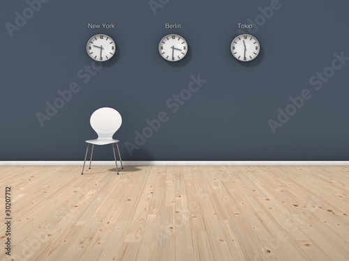 blaue wand mit weltzeit von vektor x lizenzfreies foto 30207712 auf. Black Bedroom Furniture Sets. Home Design Ideas