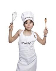 enfant cuisine gourmand cuisinier manger chef toque recette cuis