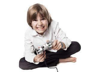 jeu vidéo manette joystick addiction dangereux dingue fou folie