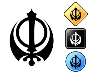 Sikh pictogram and signs