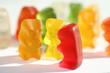 Leinwanddruck Bild - gummibären
