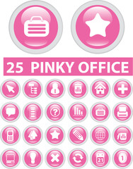 25 pinky office signs