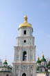 Bell tower of the orthodox Sofia cathedral in Kiev, Ukraine