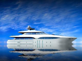 Luxury Yacht.