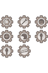 icônes bricolage