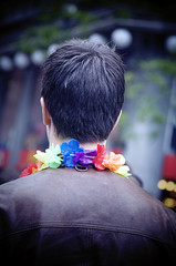Man at gay pride