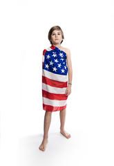 respect pays usa patriote drapeau américain enfant avenir patrie