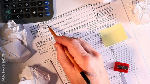2010 Income Tax form overdue
