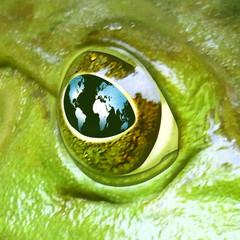 Environment symbol of global health