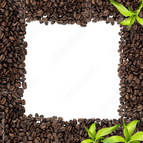Beautiful coffee frame