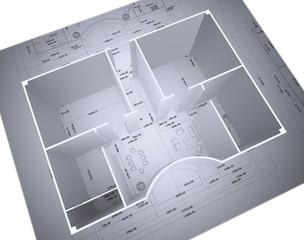 Progetto cad abitazione