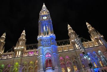 Parlamento di Vienna, giochi di luce