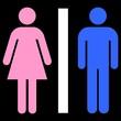 Picto Toilettes : Homme Femme