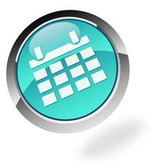 3d Button schwebend Kalender