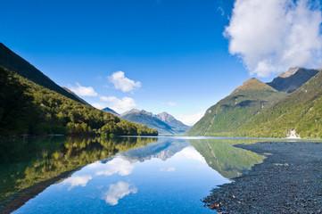 Lake Gunn south island of New Zealand