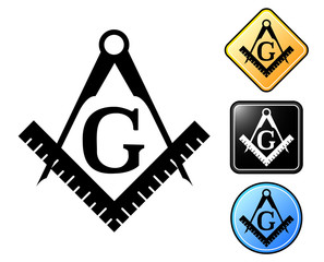 Masonic pictogram and signs.zip