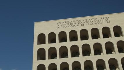 Square Coliseum, Rome