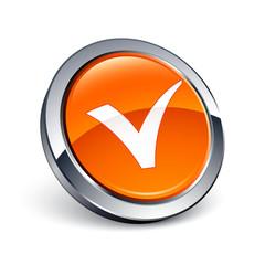 icône bouton internet validation