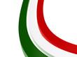 Italy stripes flag