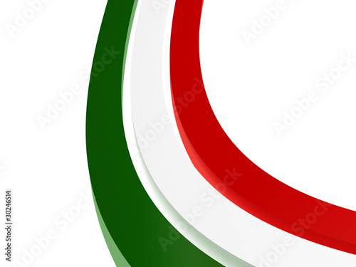 Italy stripes flag
