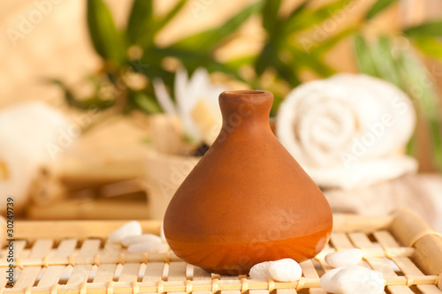 Clay pot diffuser with essentail oils