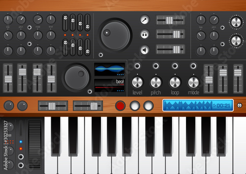 Pro Music Synthesizer/ Interface