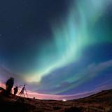 Fototapete Norden - Astronomy - Nacht