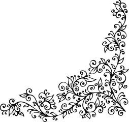Floral vignette CDXXIV