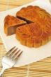 Single piece of oriental pie