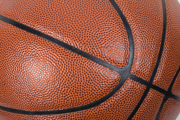Basketball Full Frame Close Up