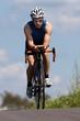 Radfahrer im Triathlon