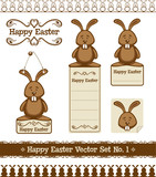 Happy Easter Bunny Set