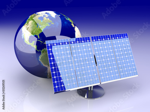 Alternative Energie - Solarzelle